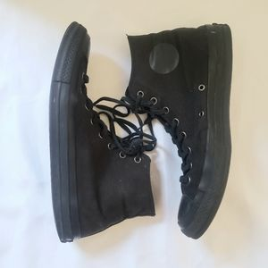 Black Unisex Converse Sneakers